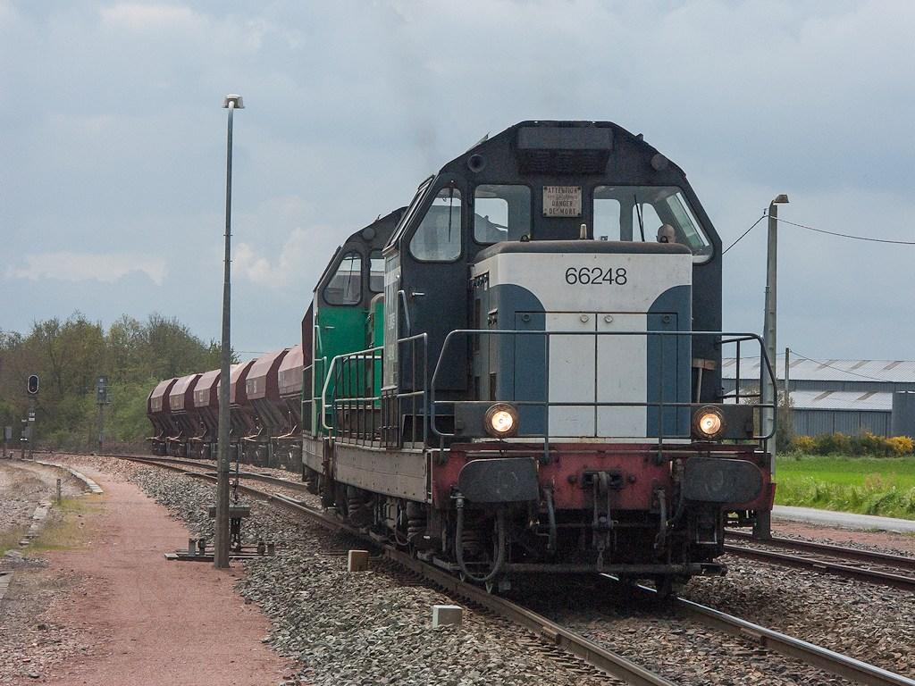 UM BB 66248/BB 66000 - La Gouraudière - 25/04/2005