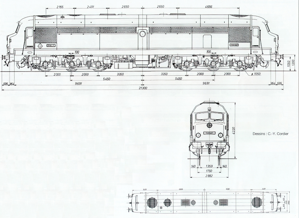Diagramme CC 80000 - Dessins de CY Cordier