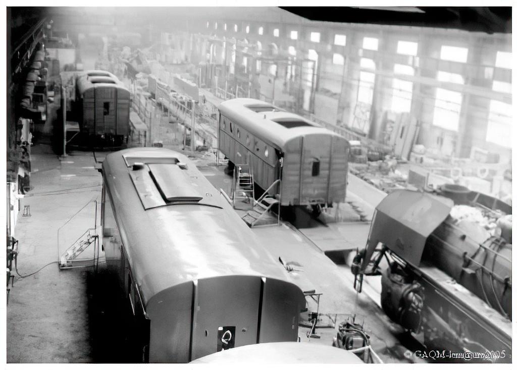 Ateliers QM de Sotteville - Construction fourgons-chaudières 800 kg/h