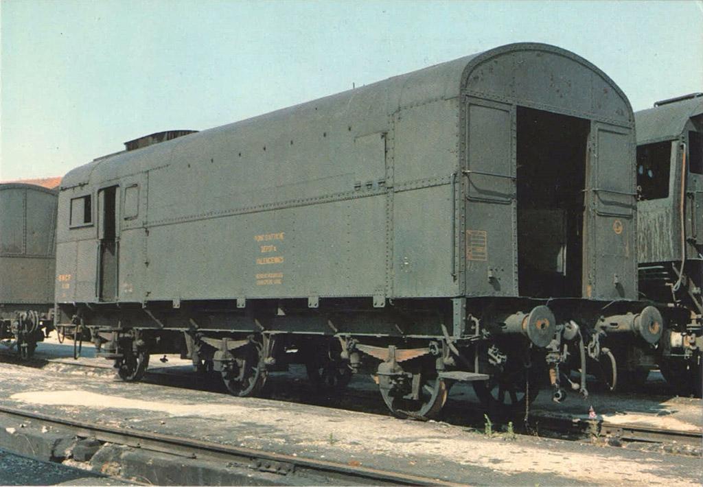 Fourgon-chaudière PLM série Ca 710/728