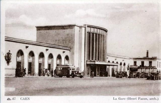 Caen - Après 1934 - Architecte: Henri Pacon