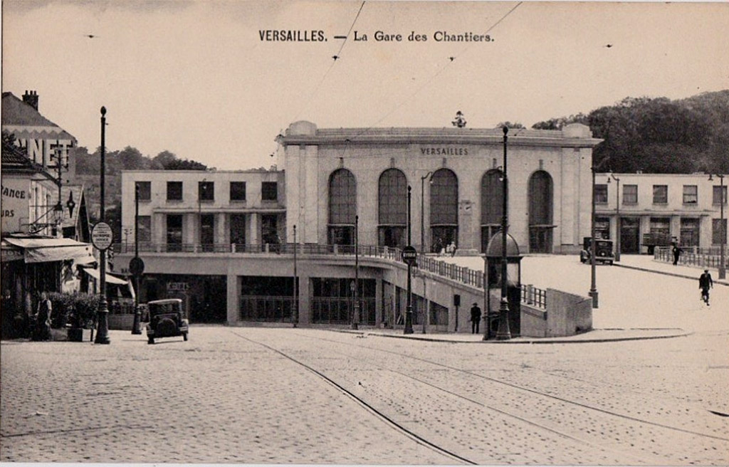Versailles-Chantiers - Après 1932 - Architecte: André Ventre
