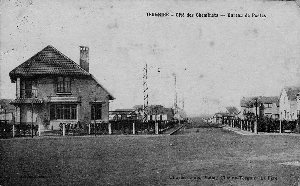 Cité de Tergnier - Bureau de Poste