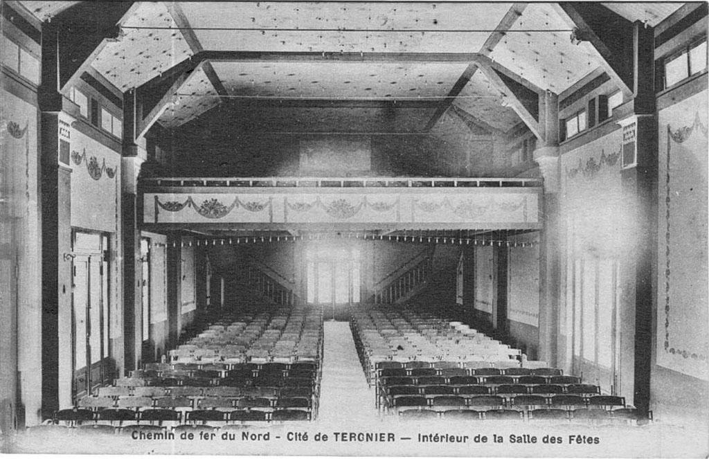 Cité de Tergnier - Salle des fêtes
