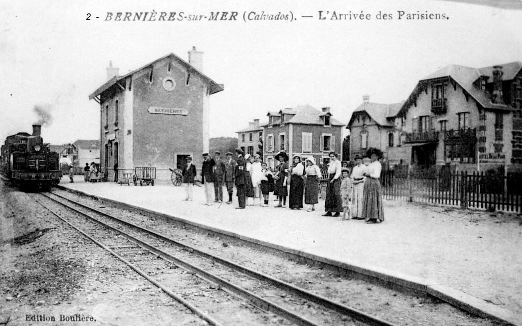Bernières/Mer - CF de Caen à la Mer