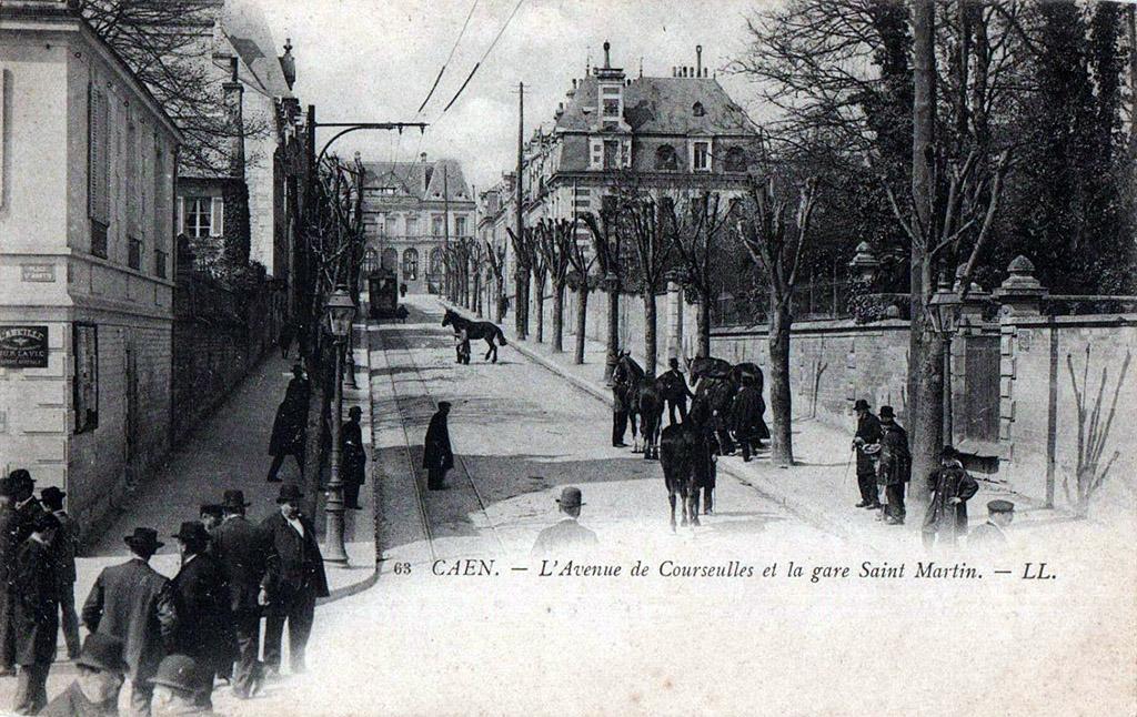 Gare de St Martin - Caen - CF de Caen à la Mer