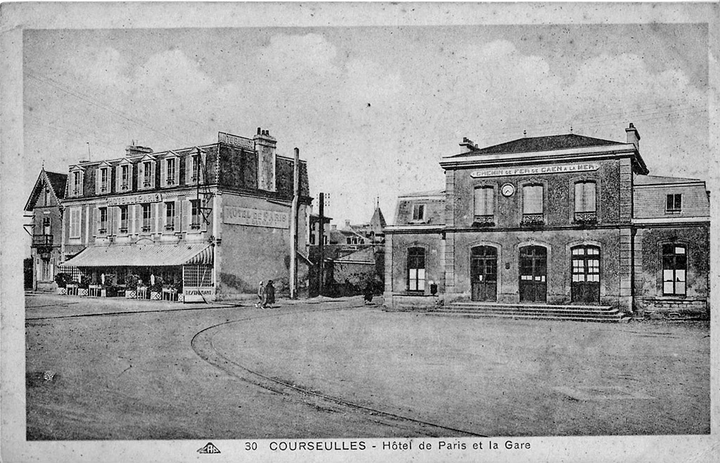 Courseulles/Mer - CF de Caen à la Mer