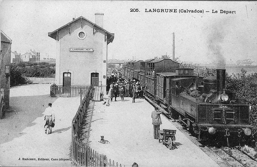 Langrune - CF de Caen à la Mer