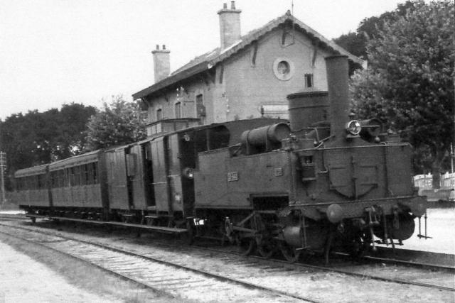 Gare de Luc/Mer - CF de Caen à la Mer