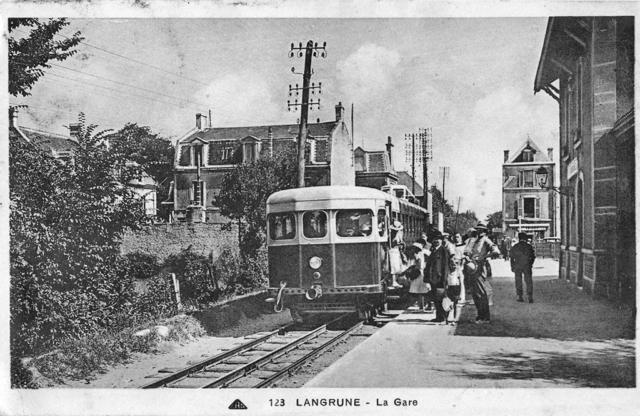 Gare de Langrune/Mer - CF de Caen à la Mer