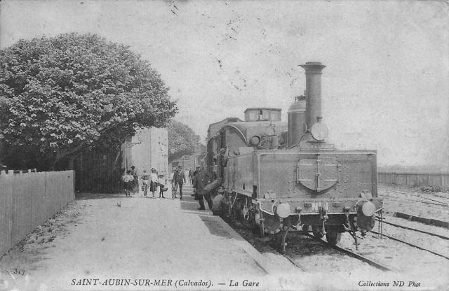 St Aubin/Mer - CF de Caen à la Mer