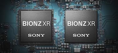 Processeur BIONZ XR - Crédit: Sony